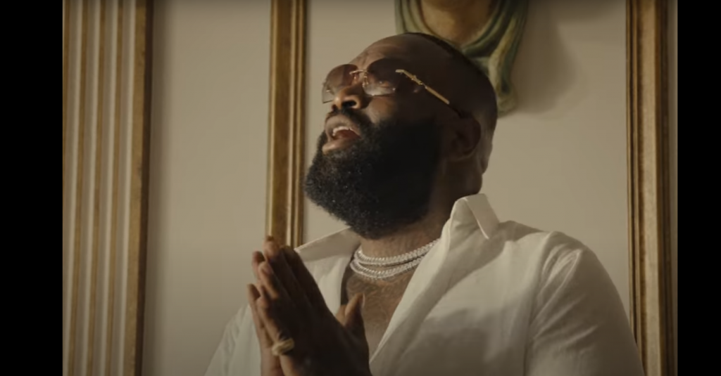Rick Ross Pied to the Cross